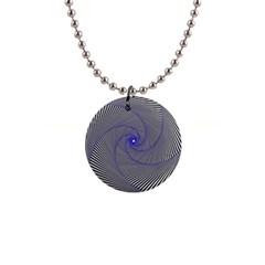 Hypnotisiert Button Necklace