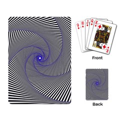 Hypnotisiert Playing Cards Single Design