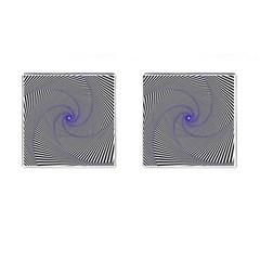 Hypnotisiert Cufflinks (Square)