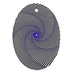 Hypnotisiert Oval Ornament (Two Sides)