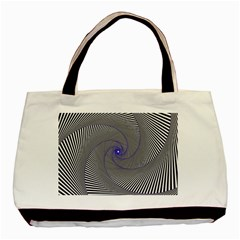 Hypnotisiert Twin-sided Black Tote Bag