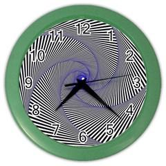 Hypnotisiert Wall Clock (color)