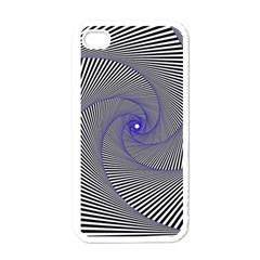 Hypnotisiert Apple iPhone 4 Case (White)