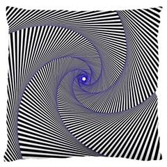 Hypnotisiert Large Cushion Case (single Sided)