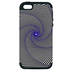 Hypnotisiert Apple Iphone 5 Hardshell Case (pc+silicone)