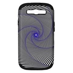 Hypnotisiert Samsung Galaxy S III Hardshell Case (PC+Silicone)