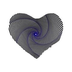 Hypnotisiert 16  Premium Heart Shape Cushion