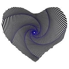 Hypnotisiert 19  Premium Heart Shape Cushion
