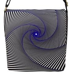 Hypnotisiert Flap closure messenger bag (Small)