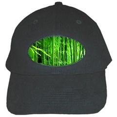 Bamboo Black Baseball Cap
