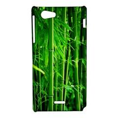 Bamboo Sony Xperia J Hardshell Case