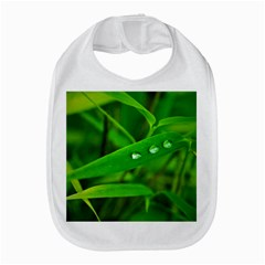 Bamboo Leaf With Drops Bib