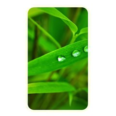 Bamboo Leaf With Drops Memory Card Reader (Rectangular)
