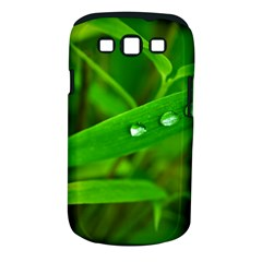 Bamboo Leaf With Drops Samsung Galaxy S Iii Classic Hardshell Case (pc+silicone)
