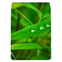Bamboo Leaf With Drops Removable Flap Cover (Large)