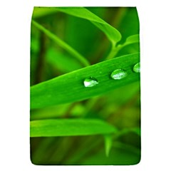 Bamboo Leaf With Drops Removable Flap Cover (small)