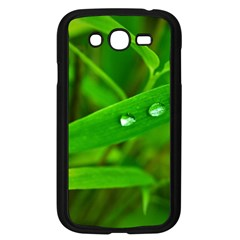 Bamboo Leaf With Drops Samsung Galaxy Grand Duos I9082 Case (black)