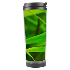 Bamboo Leaf With Drops Travel Tumbler