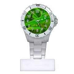 Bamboo Leaf With Drops Nurses Watch