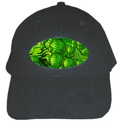Green Balls  Black Baseball Cap