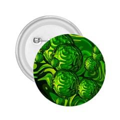Green Balls  2.25  Button