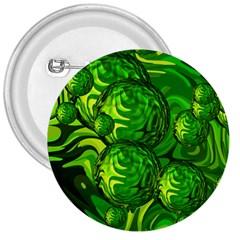 Green Balls  3  Button