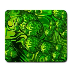 Green Balls  Large Mouse Pad (Rectangle)