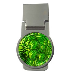Green Balls  Money Clip (round)