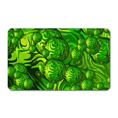 Green Balls  Magnet (Rectangular)