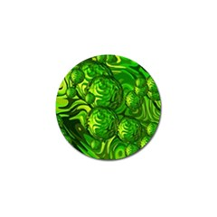 Green Balls  Golf Ball Marker 4 Pack