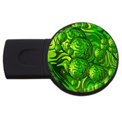 Green Balls  2gb Usb Flash Drive (round)