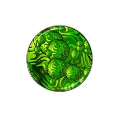 Green Balls  Golf Ball Marker (for Hat Clip)