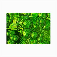 Green Balls  Canvas 36  x 48  (Unframed)
