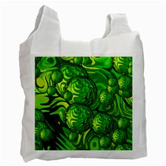 Green Balls  Recycle Bag (Two Sides)