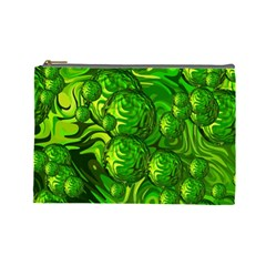 Green Balls  Cosmetic Bag (Large)