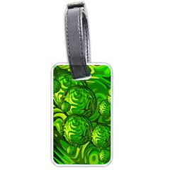 Green Balls  Luggage Tag (two Sides)