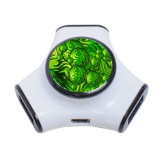 Green Balls  3 Port USB Hub