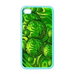 Green Balls  Apple iPhone 4 Case (Color)