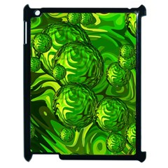 Green Balls  Apple iPad 2 Case (Black)