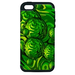 Green Balls  Apple Iphone 5 Hardshell Case (pc+silicone)
