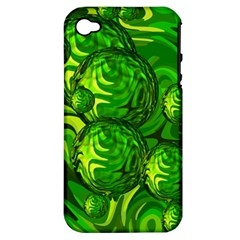 Green Balls  Apple iPhone 4/4S Hardshell Case (PC+Silicone)