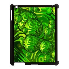 Green Balls  Apple iPad 3/4 Case (Black)
