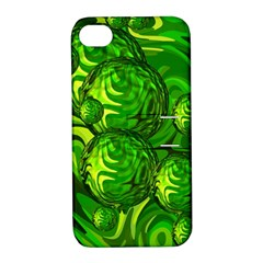 Green Balls  Apple iPhone 4/4S Hardshell Case with Stand