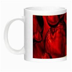 Red Bubbles Glow in the Dark Mug