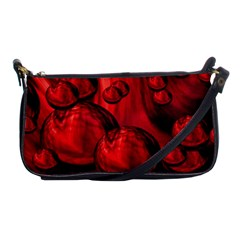 Red Bubbles Evening Bag