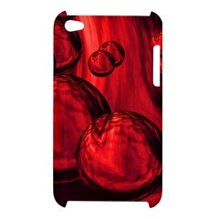 Red Bubbles Apple iPod Touch 4G Hardshell Case