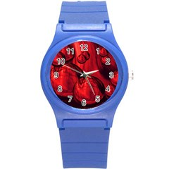 Red Bubbles Plastic Sport Watch (Small)