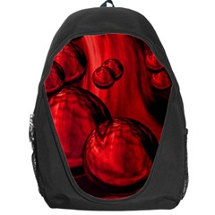 Red Bubbles Backpack Bag