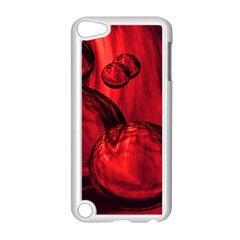 Red Bubbles Apple Ipod Touch 5 Case (white)