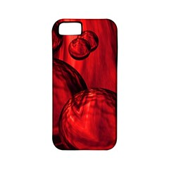 Red Bubbles Apple iPhone 5 Classic Hardshell Case (PC+Silicone)